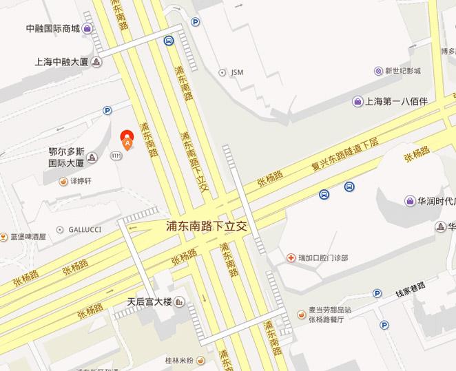 公交信息:        地铁2号线陆家嘴站,4号线浦东大道站